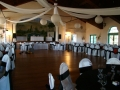 Ballroom with dais on stage